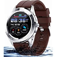 Smart Watch Smartwatch da uomo Bracciale Sport IP68 Impermeabile Cardiofrequenzimetro Monitor del sonno Smart Watch…