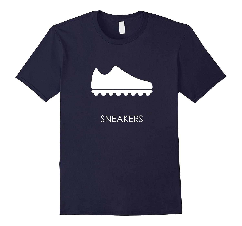 I Love American Soccer Sneaker modern Sport Graphic T-Shirt