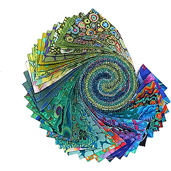 Free Spirit Fabrics Kaffe Fassett Collective Lipstick Design Roll with 40 Strips 2.5 by 44