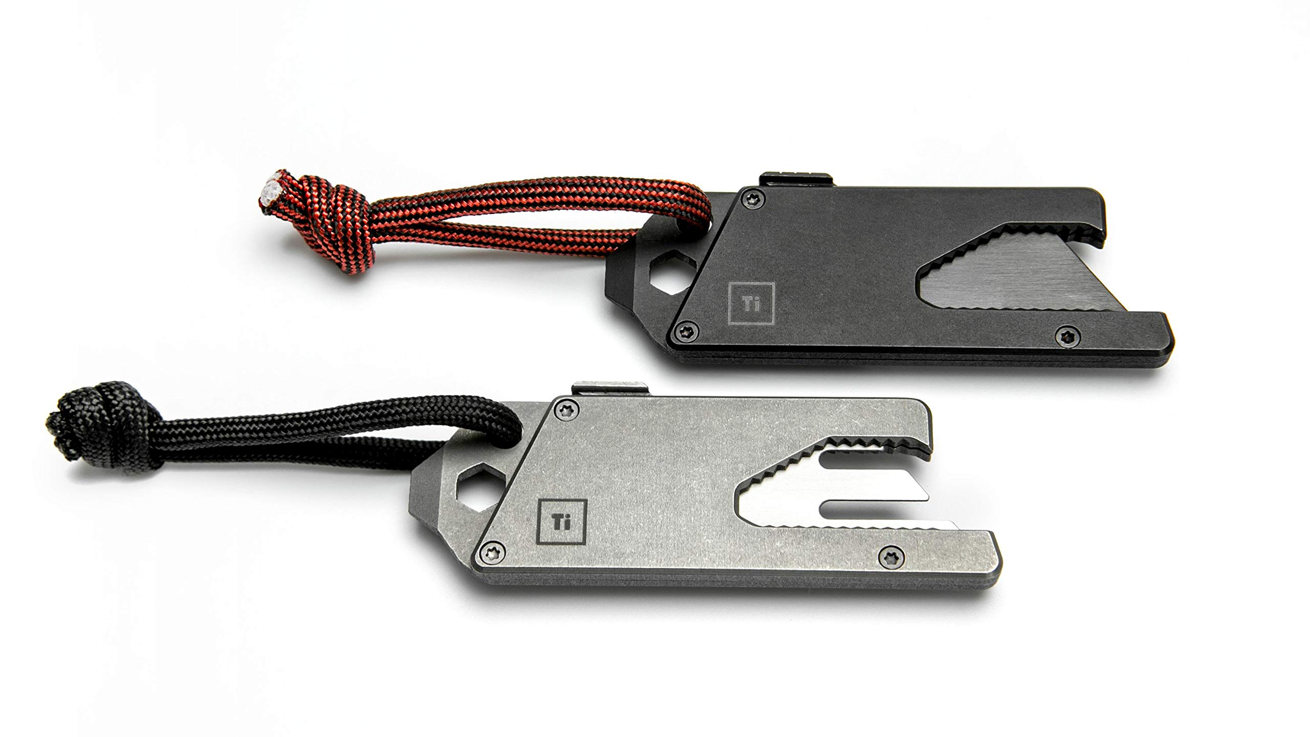 BIG IDEA DESIGN TPT Slide : Titanium Pocket Tool (Matte Black) by BIG IDEA DESIGN