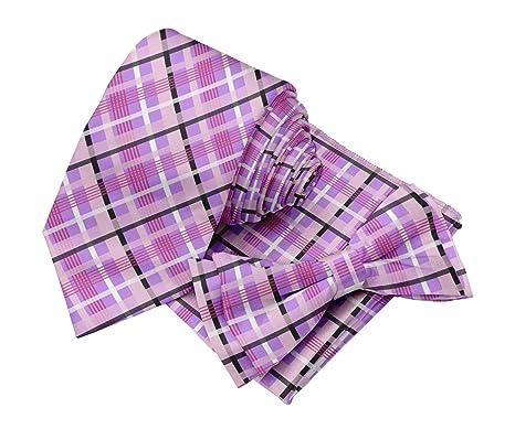 BESTMAN Corbata de corbata tipo corbata con corbatín ascot y ...