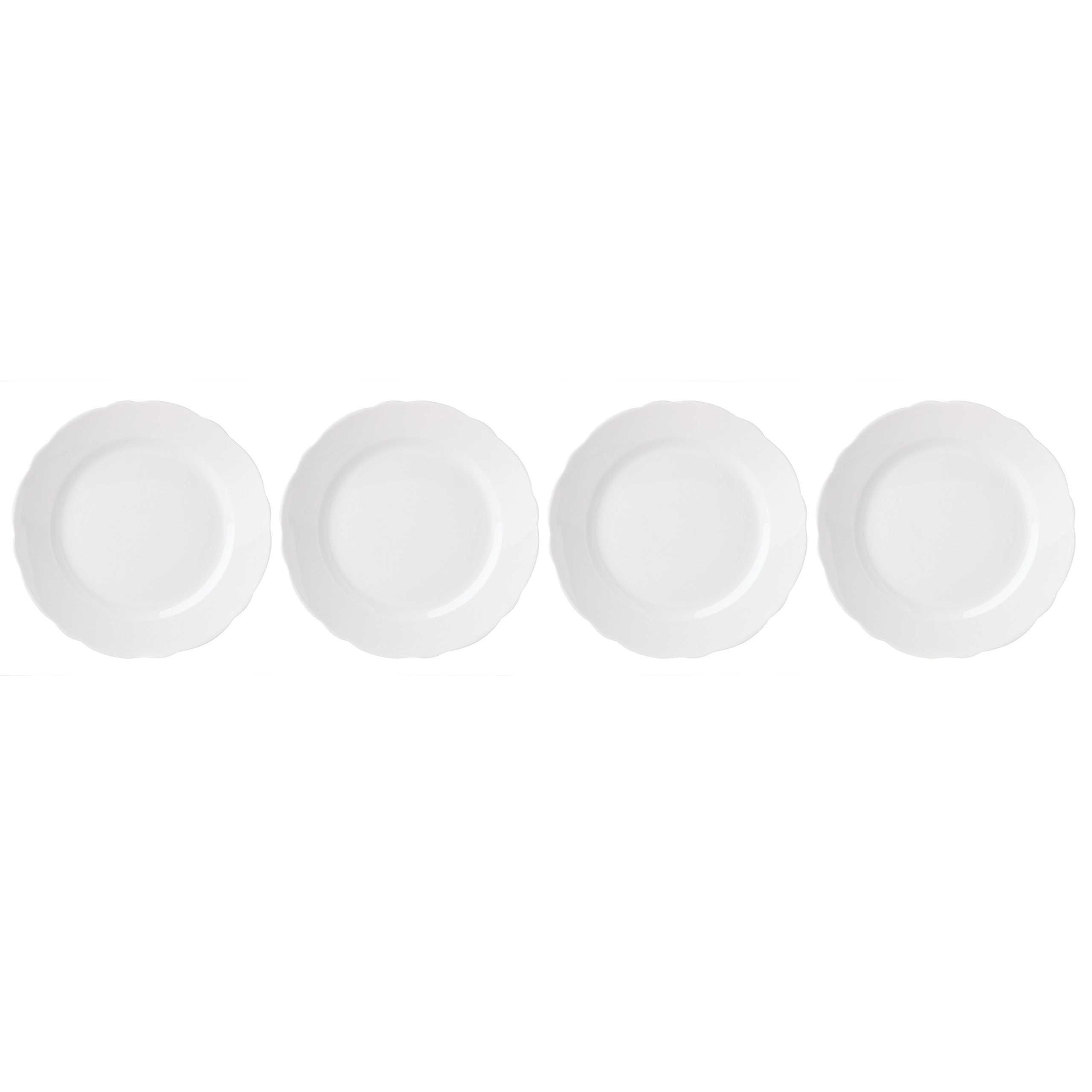 Lenox Butterfly Meadow Solid White Salad Plates (Set of 4)