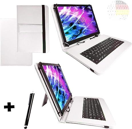 Tablet Teclado QWERTZ para Teclast T20 Keyboard Book Cover ...