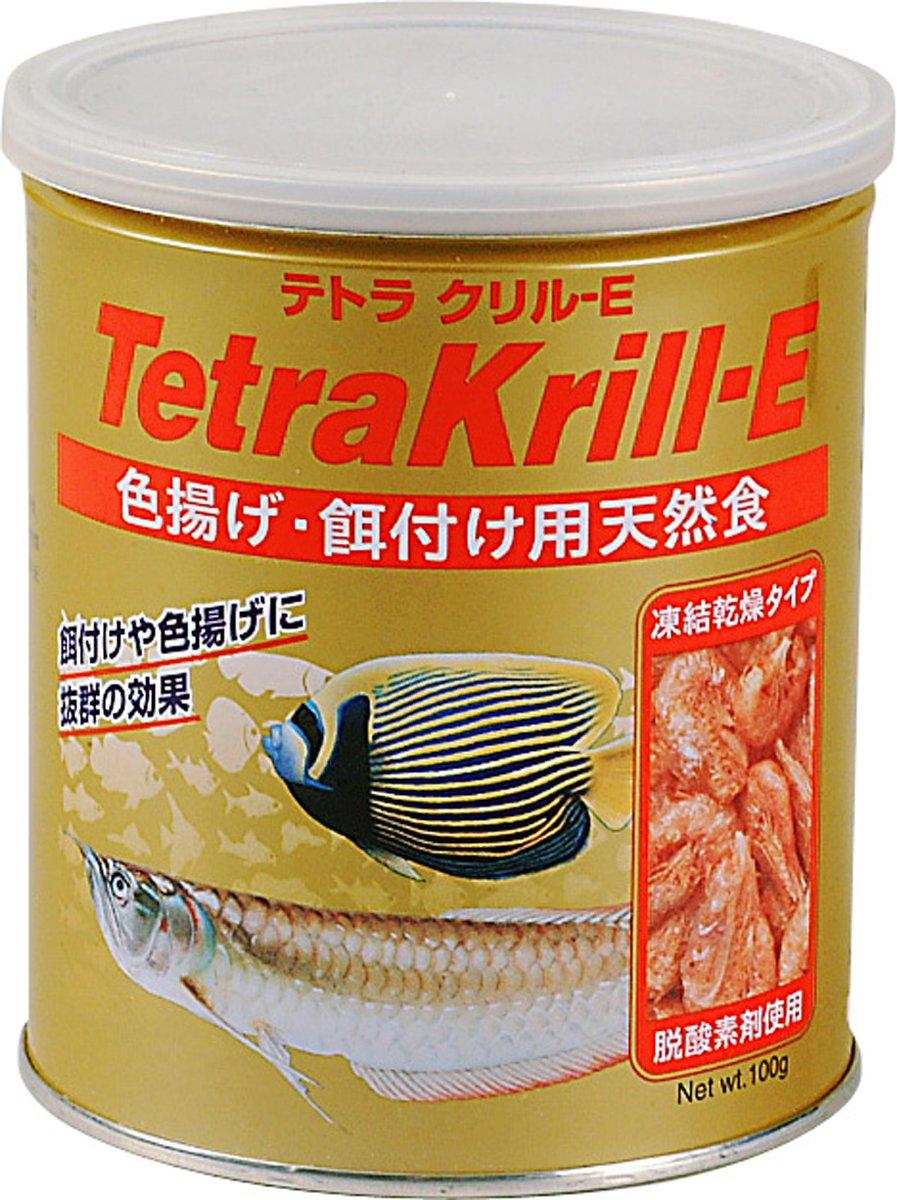 テトラ(Tetra) クリルE 色揚げ・餌付け用天然食 100g