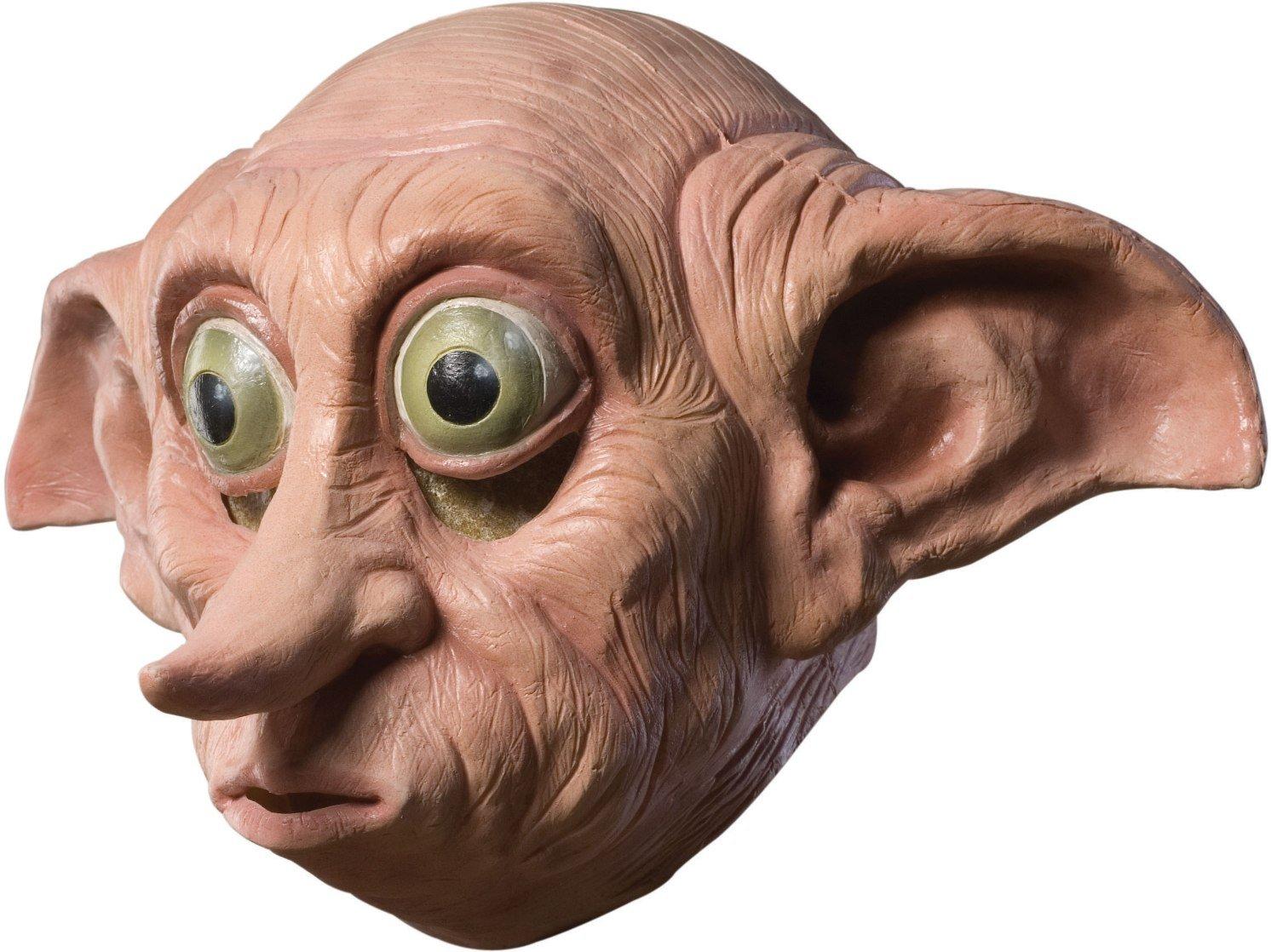 Generique - Dobby-Lizenzmaske Harry Potter für Erwachsene hautfarben