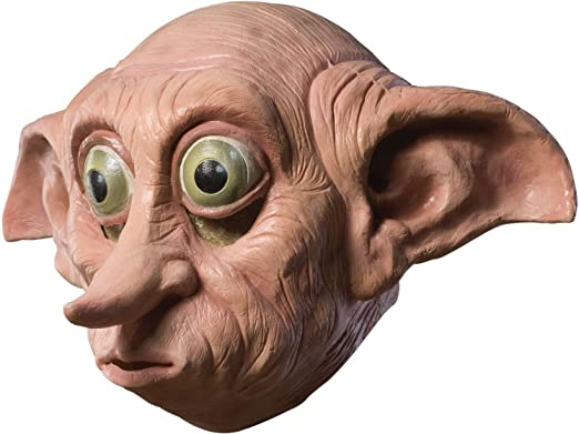 Rubieu0027s Harry Potter Dobby Deluxe Adult Latex Mask  sc 1 st  Amazon.com & Amazon.com: Rubieu0027s Harry Potter Dobby Deluxe Adult Latex Mask: Clothing
