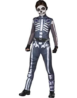 Amazon.com: Spirit Halloween Boys Skull Trooper Fortnite ...