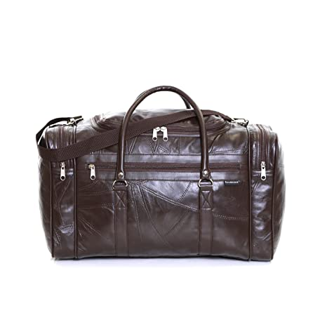 b994b67fea835d Slimbridge Madrid Leder Reisetasche, Braun: Amazon.de: Koffer ...