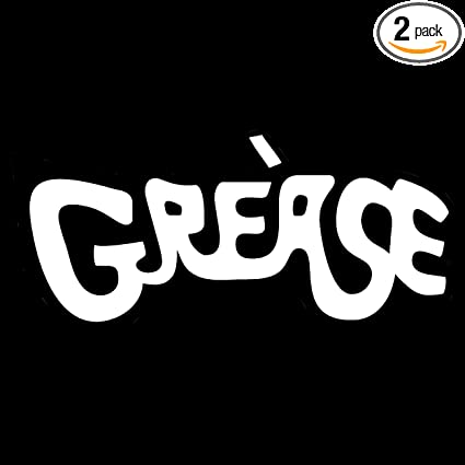 Grease Logo Car Decal
