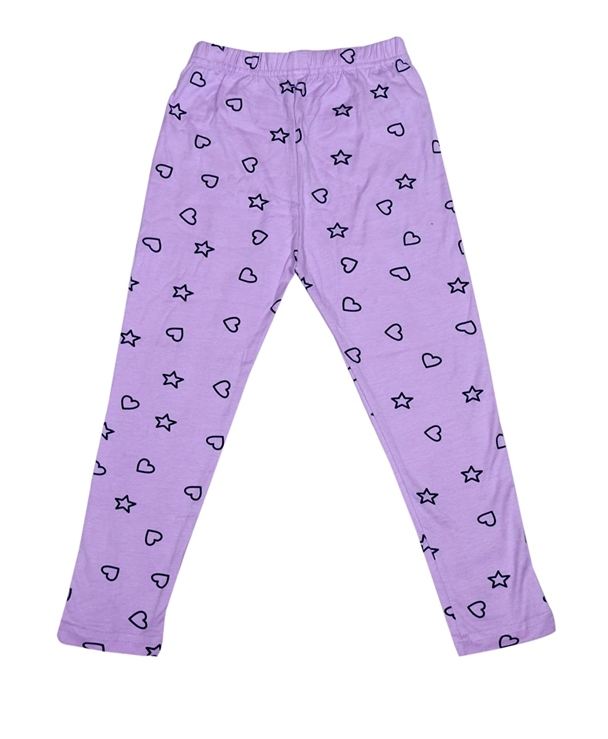 Pack Of 3 Indistar Girls Super Soft and Stylish Cotton Printed Leggings