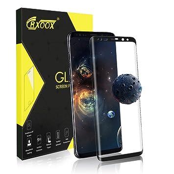 official supplier outlet boutique good service Verre Trempé pour Samsung Galaxy S9 Plus, [3D Incurvé] [Coques Compatibles]  Protecteur d'Écran en Verre Trempé, 3D Tactile Compatible et Dureté de 9H  ...