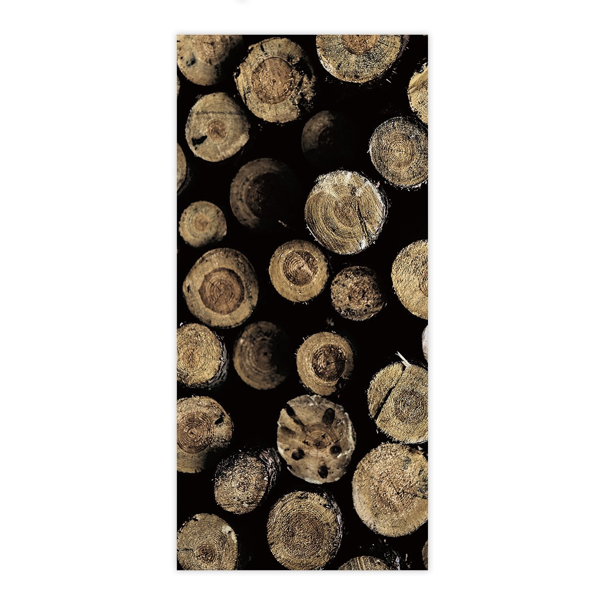 OxOHome Custom Bath Towel Quick Dry Absorbent Towels Spa Shower Wrap for College Dorms, Gyms, Locker Rooms, 27.5 x 55 inch - Rustic Wood