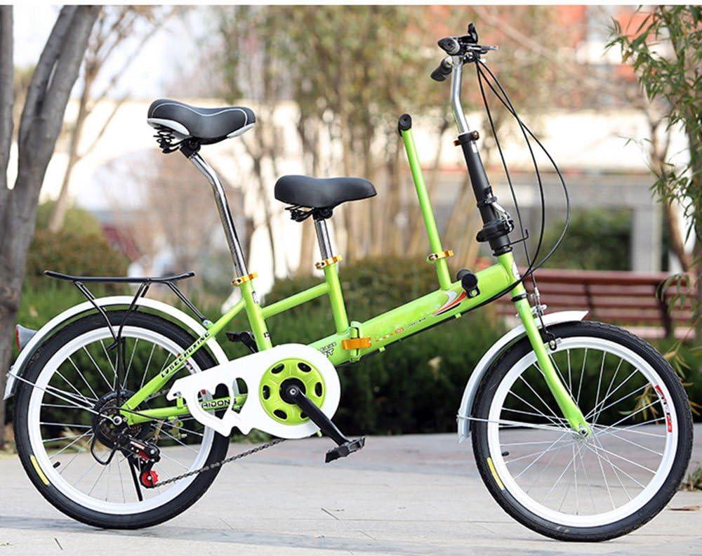 Bicicleta plegable SHIOUCY de 20 pulgadas, para adultos, niños ...