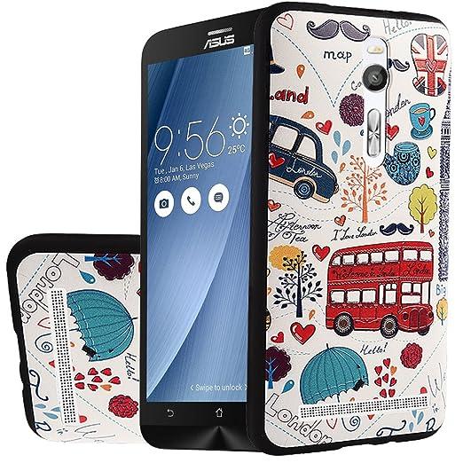 12 opinioni per MOONCASE Asus ZenFone 2 ZE551ML Case, [Modello] Creative 3D morbida TPU Custodia