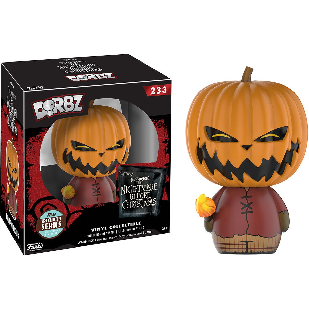 Amazon.com: Disney Pumpkin King (Specialty Series): Funko Dorbz x ...