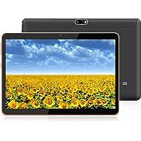 HOPESUNIN Tableta Android de 10.1 Pulgadas con Sistema operativo Android 9 Pie, 4GB RAM 64GB ROM-certificación gsm de Google, WiFi / 5MP + 8MP / Tipo-C Tableta Ultrafina