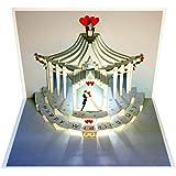 Pop up Karte Hochzeitstag Hochzeit Ballongewicht Glückwunschkarte
