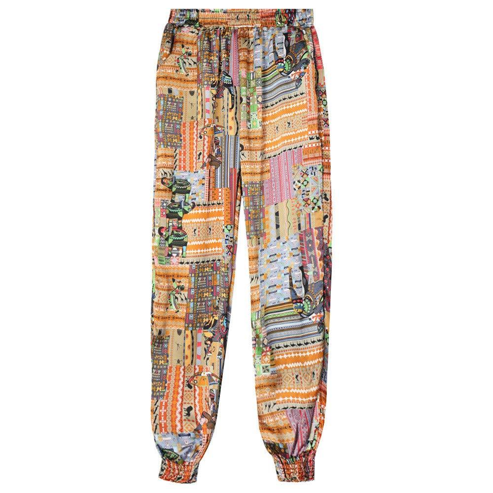 ❤ Pantalones Harem para Mujer, Pantalones Estampados con Pantalones Anchos Sueltos Absolute: Amazon.es: Ropa y accesorios