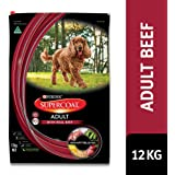 Supercoat Adult Dog Food, Beef, 12kg