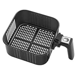 Air Fryer Replacement Basket For Cosori 5.8Qt Air Fryer, C158-FB, Non-Stick Fry Basket, Dishwasher Safe, FDA Certified, 2-Year Warranty