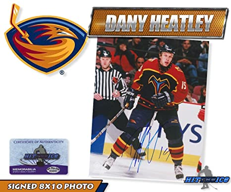 Image Unavailable. Image not available for. Color  DANY HEATLEY Signed ... 4a9cdba41