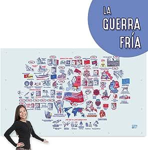 Lona-poster para dar clases   La Guerra Fría: Amazon.es