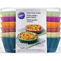 Wilton Tart and Pie Molds - Mini Silicone Molds