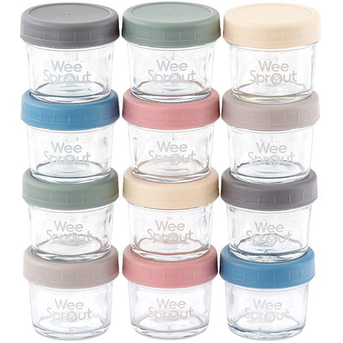 Top 10 Small Glass Containers With Lids Baby Food Jars