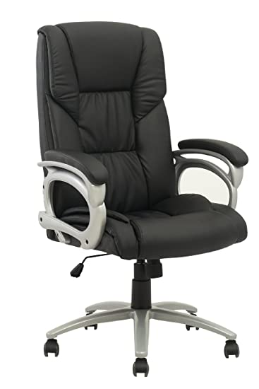 Amazon Com New High Back Executive Leather Ergonomic Office Chair W