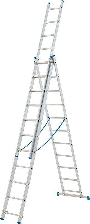Aluminio Starline reforma combinación escalera 9 peldaños: Amazon.es: Bricolaje y herramientas