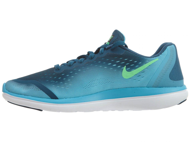 3b8d57b16e8f Galleon - Nike Kids Flex 2017 Rn (GS) Legion Blue Black Running Shoe 7 Kids  US