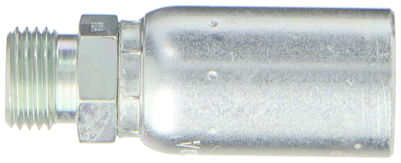 EATON Weatherhead Coll-O-Crimp 06U-10A Male Universal Seat Light Fitting 10mm Tube Size 3//8 Hose ID Low Carbon Steel 3//8 Hose ID