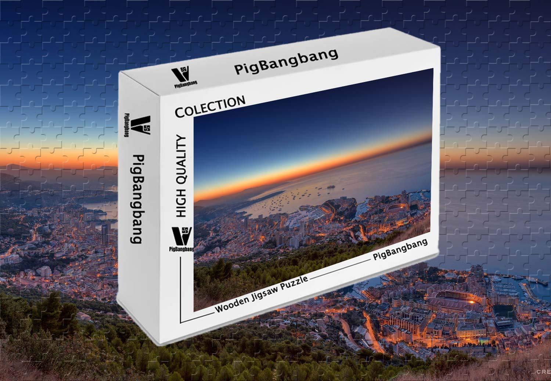 2019春大特価セール! PigBangbang,Photomosaic Basswood in a in Box PigBangbang,Photomosaic - Monaco B07J4PMQMT Yacht Show Panorama - 300ピース ジグソーパズル (20.6 X 15.1インチ) B07J4PMQMT, クラリス:4709f3ac --- sinefi.org.br