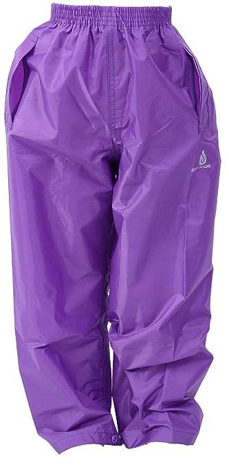 Pantalones Impermeables para ni/ños Ropa de Lluvia para ni/ños y ni/ñas para Jugar al Aire Libre Dry Kids
