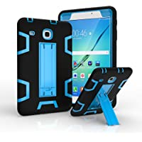"""Case for Galaxy Tab E 8.0"""" SM-T377 [2016 Release], Hybrid Heavy Duty Shockproof Impact Resistant with Kickstand Defender Protection Case for Samsung Galaxy Tab E 8.0 inch T377/T375"""