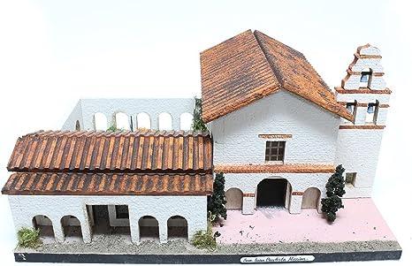 Kit de modelo California de la misión San Juan Bautista: Amazon.es: Juguetes y juegos