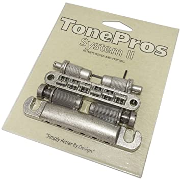 TonePros Metric Locking Tune-o-matic/Tailpiece Set (large posts