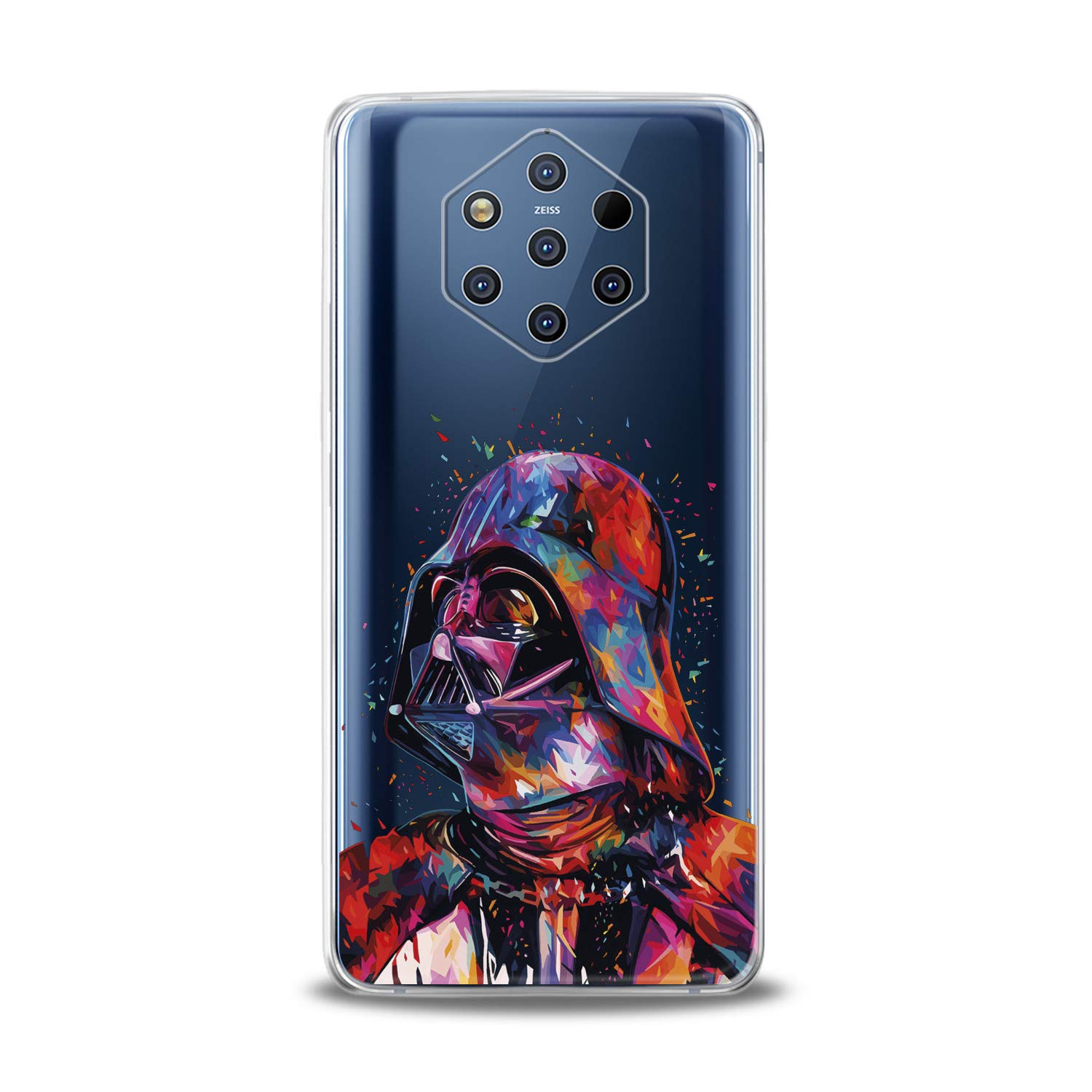 Lex Altern TPU Case for Nokia 9 PureView 8.1 Plus 7.1 6.1 X6 5.1 3.1 New Clear Creative Dart Weider Silicone Movie Cover Print Protective Lightweight ...