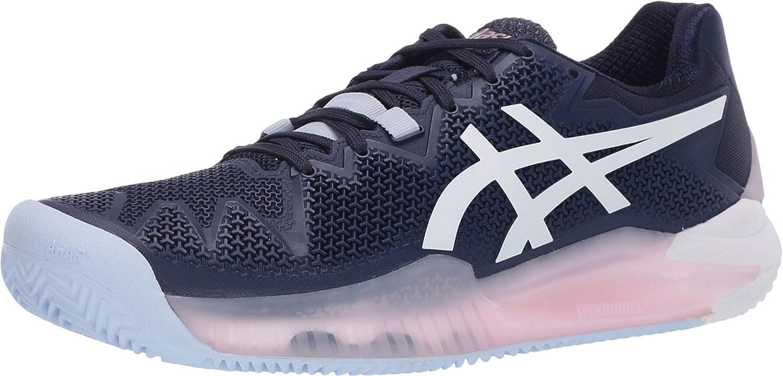 ASICS - Zapatillas de tenis de arcilla con resolución de gel 8: Amazon.es: Zapatos y complementos