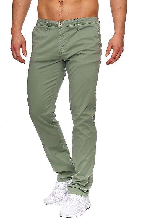 TAZZIO Styler Chino Stoff Hose ChiNoHose Slim Fit 428: Amazon.de: Bekleidung