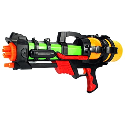 "23"" summer blast pump children's toy water gun: fire powerful water blasts from long range with plenty of ammo in the tank"