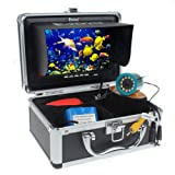 """Amazon Price History for:7"""" Color LCD 600tvl Waterproof 15m Cable 4000mah Rechargeable Battery Fish Finder Underwater Fishing Video Camera with Carry Case"""