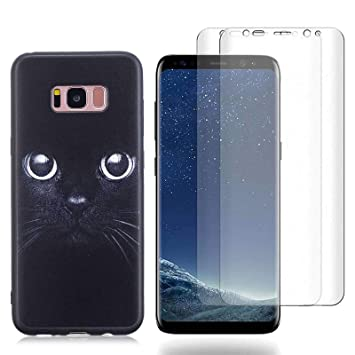 coque samsung s8 plus chat silicone