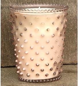 Simpatico Hobnail Candle - 16 Oz Honeysuckle