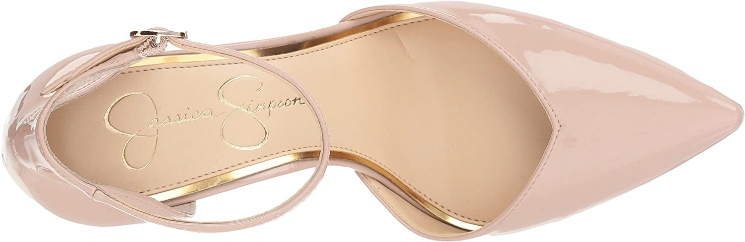 Jessica Simpson Women's Cirrus Dress US|Nude Pump B07B6VJQDP 8 B(M) US|Nude Dress Blush Patent 607a55