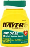 Bayer Aspirin Regimen Low Dose 81mg, Enteric Coated Tablets, 300-Count Pack of 3