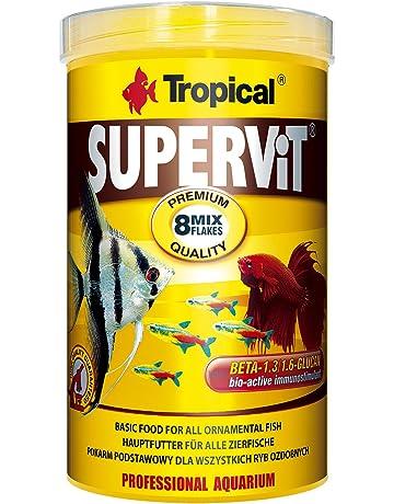 Tropical supervit Premium Principal Copo de forro, forro para todos los peces ornamentales, 1er