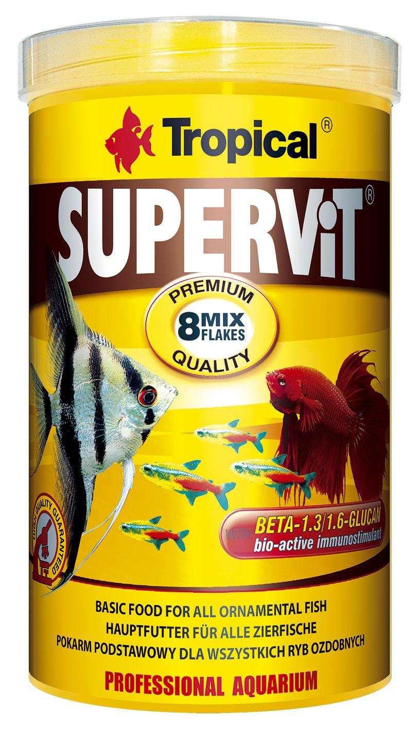 Tropical supervit Premium Principal Copo de forro, forro para todos los peces ornamentales, 1er Pack (1 x 1 l): Amazon.es: Productos para mascotas