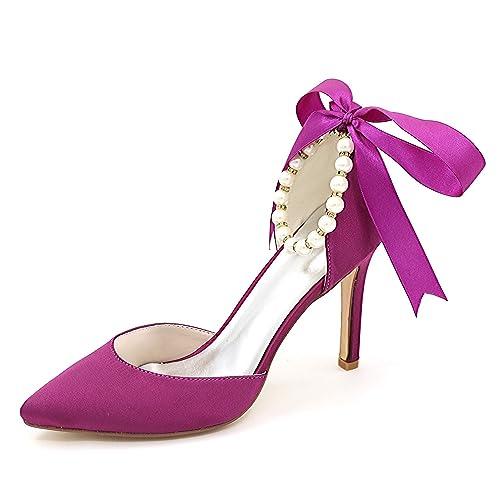 Perlen Perle Mode Weiße Frauen Braut Ferse Damen Schuhe