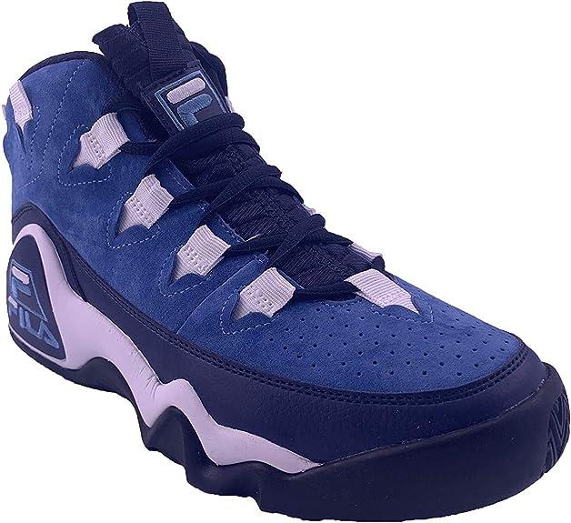Fila Men's 95 Slip Heritage Sneaker (Ink BlueSky BlueWhite)